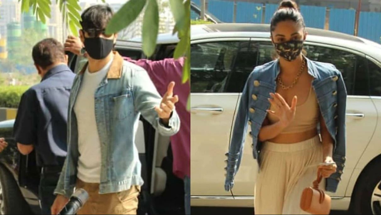 Siddharth and Kiara arrive together for lunch