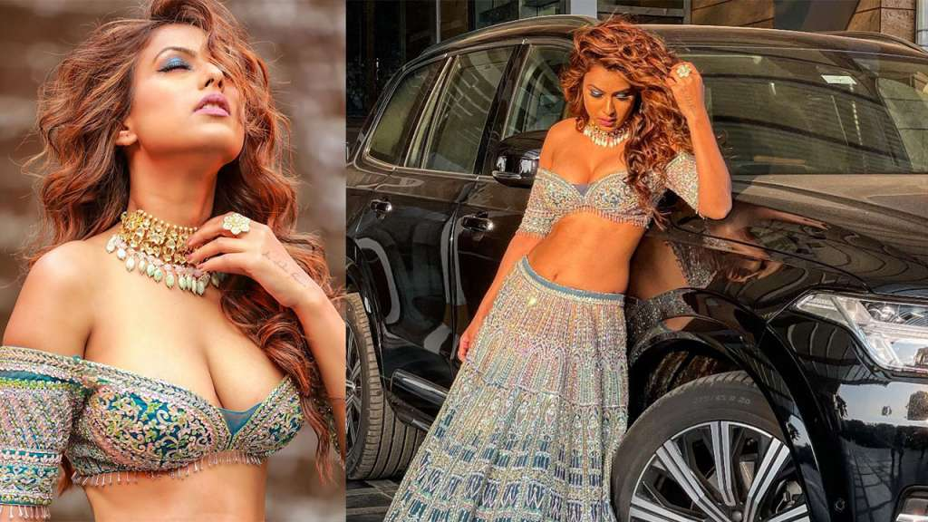 Nia Sharma looks so hot in lehenga as well, see pictures