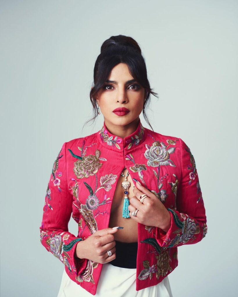 Priyanka Chopra wore such an expensive open jacket for the award show