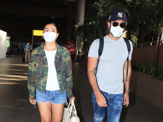 Ranbir and Alia returned after celebrating holiday in Maldives