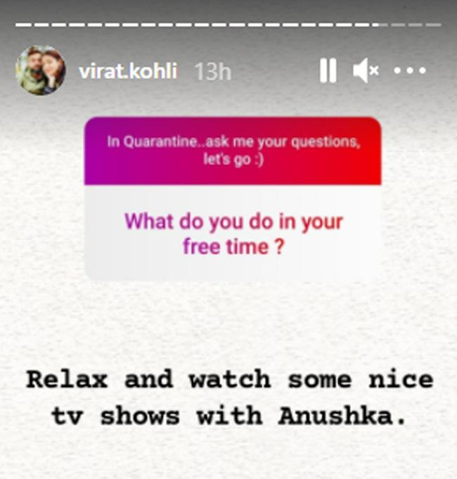 Virat gave answers to the questions of the fans: When did Fan ask to share the picture of daughter Vamika?