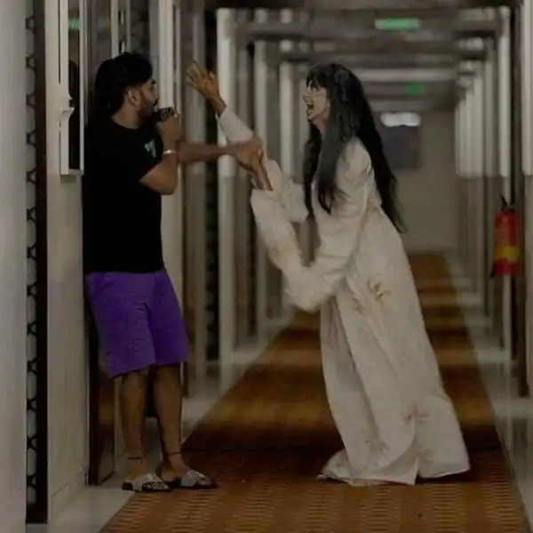 She scares everyone with her ghostly avatar in the dance reality show