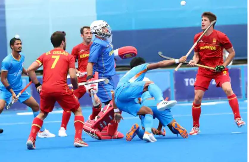 Indian hockey team on track in Tokyo Olympics, beat Spain 3-0